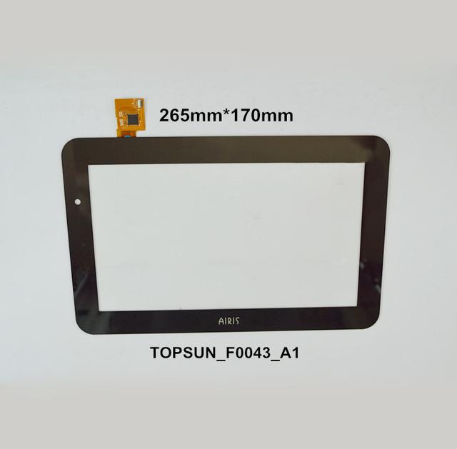 "10.1 ""Pulgadas de Pantalla Táctil TOPSUN_F0043_A1 Digitalizador OEM Compatible con AIRIS Pantalla Manuscrita Pantalla Capacitiva"