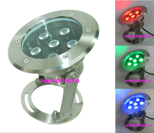 IP68,DMX compitable,good quality high power 18W RGB LED underwater light,LED pool light,24V DC,DS-10-27-18W-RGB