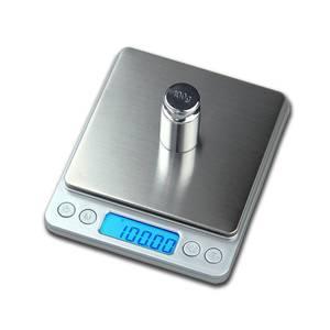Image 2 - 500g x 0.01g wysoka dokładność przenośna waga Mini elektroniczna waga cyfrowa kieszonkowa biżuteria kuchenna waga maszyna do ważenia
