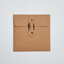MaoTu 20 teile/paket CD DVD Verpackung Tasche Kraft Papier Ärmeln Umschläge Schmuck Geschenk Verpackung Verpackung Fall Durable 13x13 cm