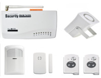 With New Siren And New Remote Control Wireless GSM Alarm System