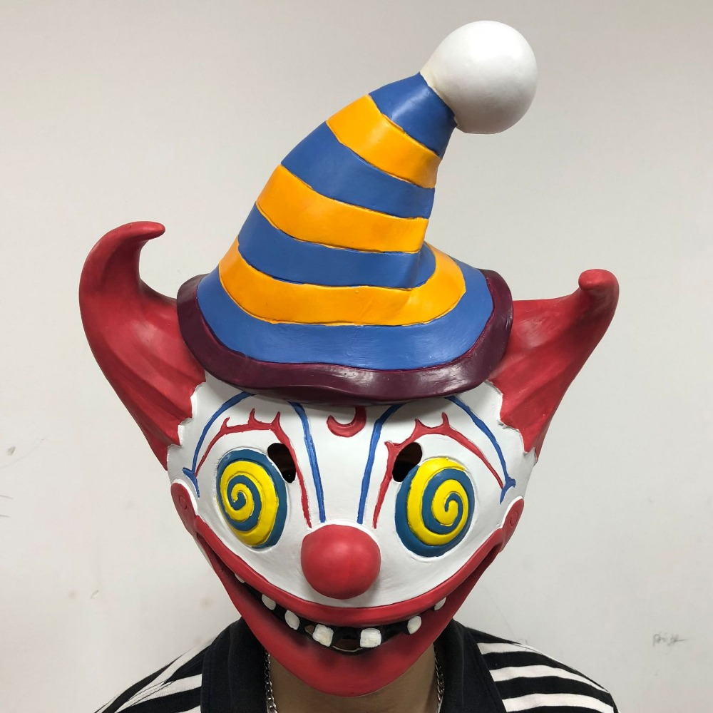 Fortnited  Mask Scary Evil Clown Mask Latex Rubber Mask Halloween Mask