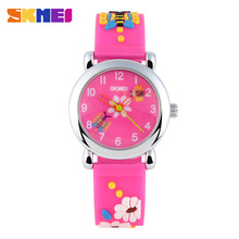 Skmei niños reloj de la marca de moda casual relojes de pulsera de cuarzo jalea impermeable kids reloj niños niñas estudiantes de pulsera