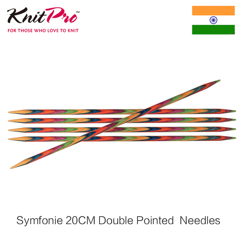 1 piece Knitpro Symfonie 20 cm Double Pointed Needle