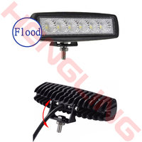 6inch 18W 12V LED Daytime Running Light Car Light Bar For Car Indicator Motorcycle Driving Off