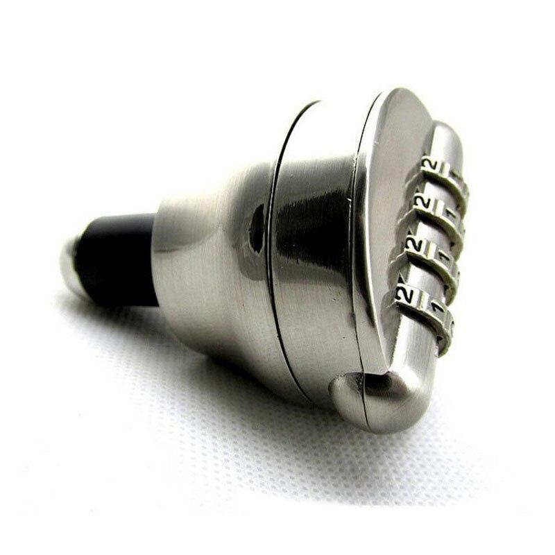 Red Wine Bottle Lock Combination Locks Costom Code Password Cork Bottle Stopper Preservation Device Safe Locks ZA3072