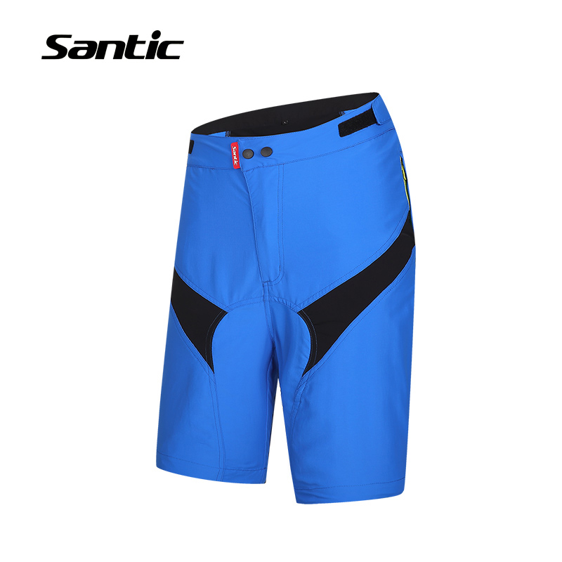 Blue Santic Leisure Cycling Shorts Summer Mountain Bike Shorts MTB Shorts Bermuda Ciclismo + Removable Pad Underwear S-3XL Asia комплект oklick 280m черный usb