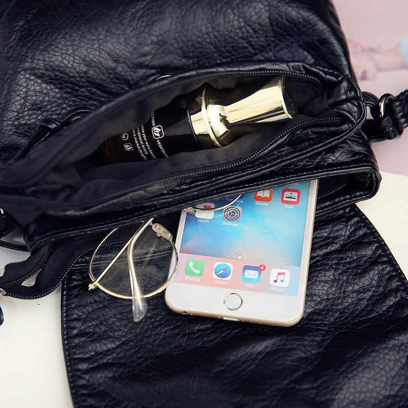 mini-sacolas crossbody flap bolsa rebite Tipo de Bolsa : Bolsas Mensageiro