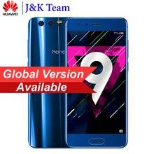 Global Firmware Huawei Honor 9 64GB 3D Curved Glass OTA Update LTE  Smartphone Octa Core 2 3GHz 5 1