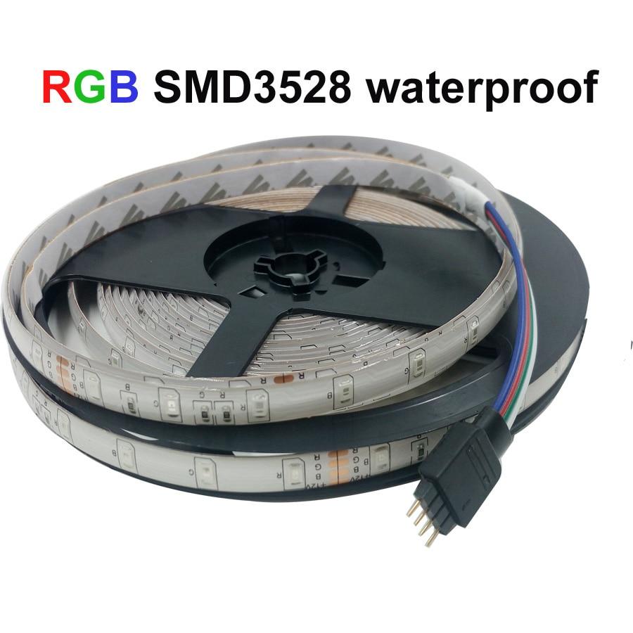 Led Strip Light RGB 2835 DC12V 5M 10M 15M 20M Vattentät flexibelt - LED-belysning - Foto 5