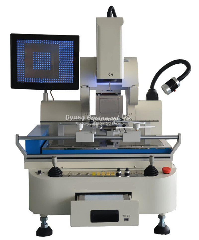 bga-rework-station-semi-automatic-g900a-3-zones-hot-air-align-9600w-with-tube-type-preheating