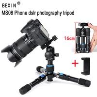 BEXIN flexible desktop Smartphone tabletop phone photography pocket tripod stand Portable Compact Mini Tripod For iPhone Camera