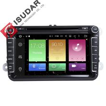 Android 6.0 Two Din 8 Inch Car DVD Player For VW/Volkswagen/POLO/PASSAT/Golf/Skoda/Octavia/Seat/Leon 3G/4G GPS Radio Navigation
