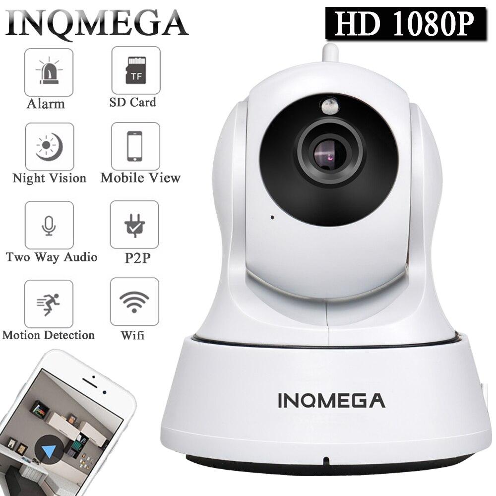 Cámara IP INQMEGA P 1080 p cámara de seguridad inalámbrica para el hogar cámara de vigilancia Wifi visión nocturna cámara CCTV bebé Monitor 1920*1080