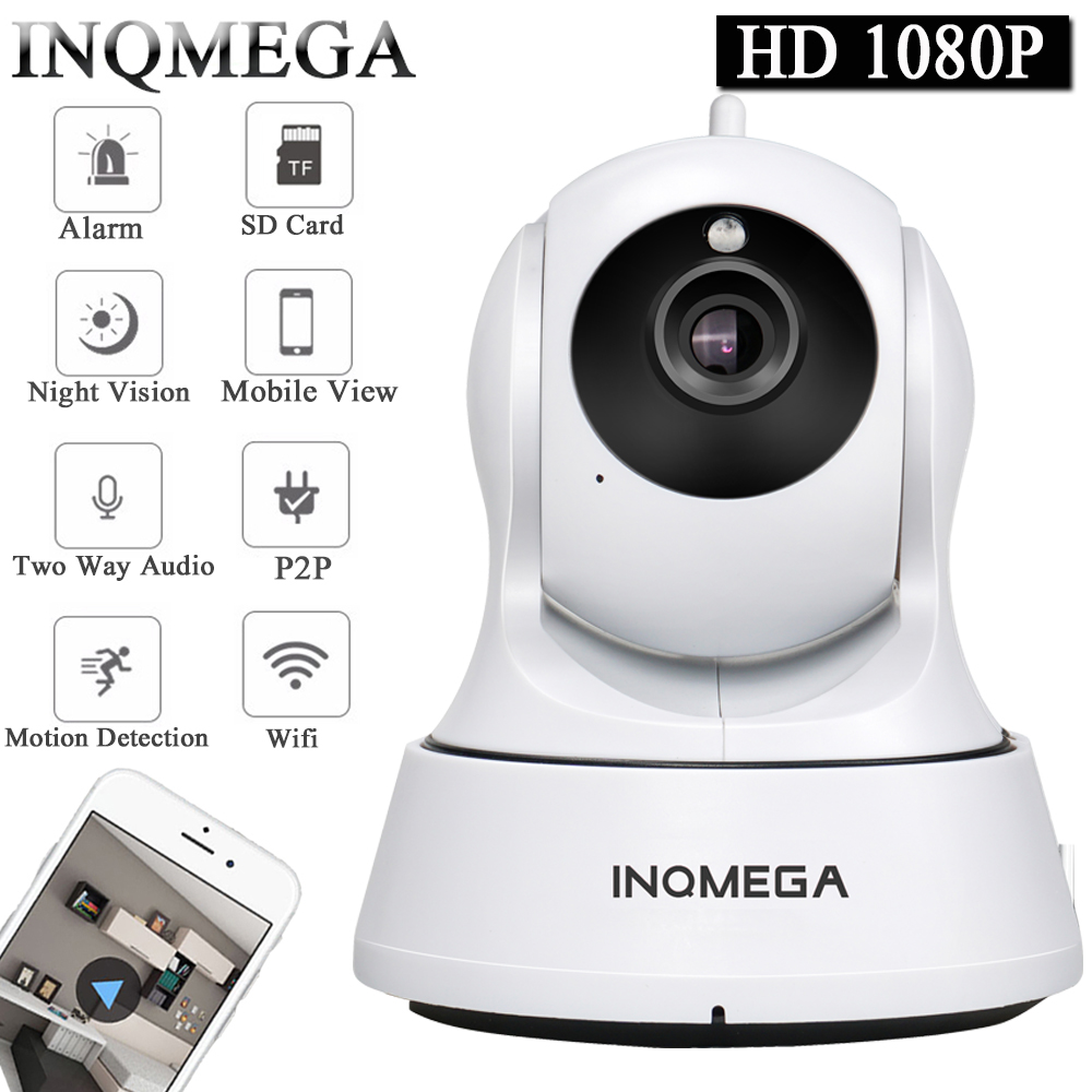 INQMEGA Cloud 1080P IP Camera Wireless Auto Tracking Home Security Camera Surveillance Camera Wifi CCTV Camera Baby Monitor