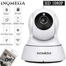 INQMEGA cámara IP inalámbrica Cloud 1080P, seguimiento automático, cámara de seguridad para el hogar, vigilancia, Wifi, CCTV, Monitor para bebés