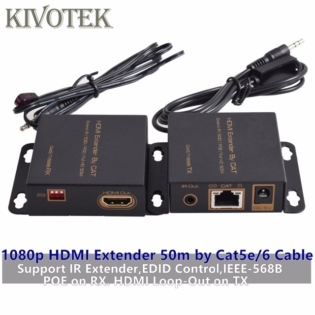 Strange Hd1080P Hdmi Extender Transmitter50M Adapter Tx Rx By Cat5 6 Cable Wiring Cloud Oideiuggs Outletorg