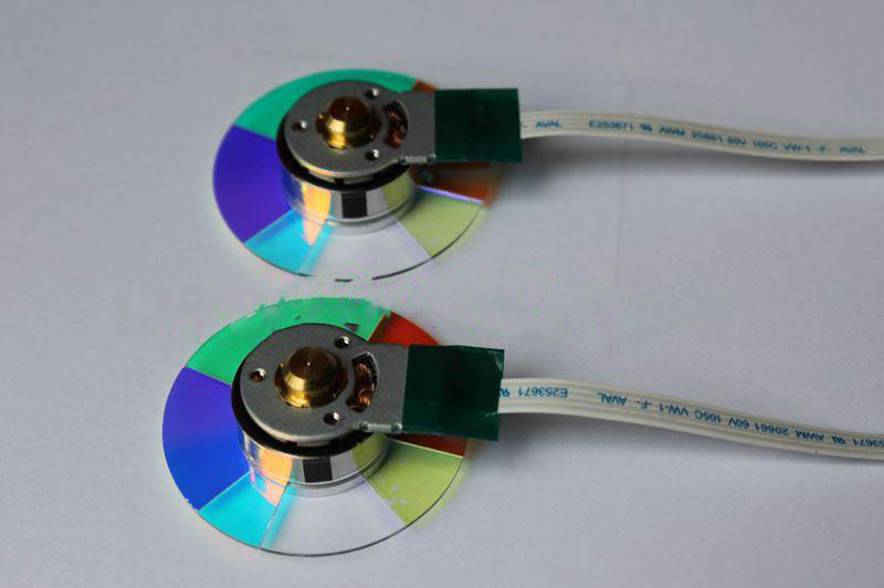 New For BENQ MS614 MX760 MX501 EP3725D MX764 DLP Projector Color Wheel brand new dlp projector color wheel for benq mw814st