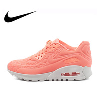 Original Authentic NIKE Air Max 90 Women's Running Shoes Sneakers Height Increasing Classic Tennis Shoes Athletic Sports Outdoor