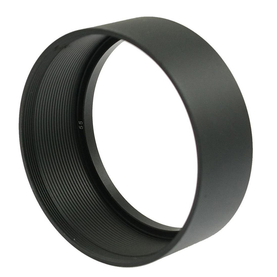 EDT-Замена Винт на Горе 55 мм Камеры Металл Бленда Черный