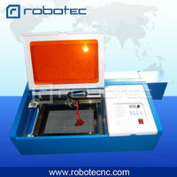 mini CO2 Laser engraving machine 40W RTJ K40 for rubber/ acrylic/ wood/paper/ coated metal
