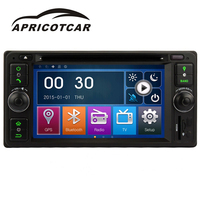 APRICOTCAR Car DVD Player For Toyota Dedicated 7 Inch Car Multimedia Player 2DIN Vehicle Mounted GPS