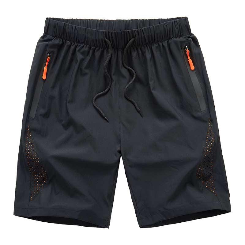 Summer Shorts Fitness Cotton Workout Gym Man Casual Trunks Breathable Men
