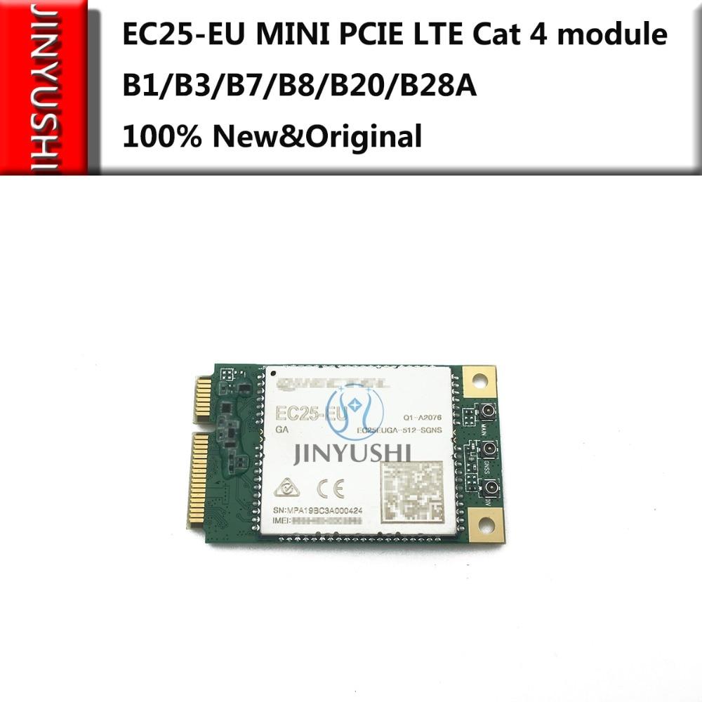 100% New&Original No Fake EC25-EU B1/B3/B7/B8/B20/B28A MINI PCIE EC25 Series  LTE Cat 4 Module