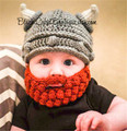 Funny baby hat crochet baby clothes newborn baby beard hat children beanies baby photography props infant kids caps