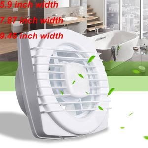 220V 4/6/7inch silence Ventilating Strong Exhaust Extractor Fan for Window Wall Bathroom Toilet Kitchen Mounted 110/150/180mm