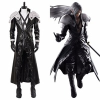 Cosplay Final Fantasy VII Remake Sephiroth Costume FF Adult Men Uniform Halloween Carnival Cosplay Costumes Outfit Customizable