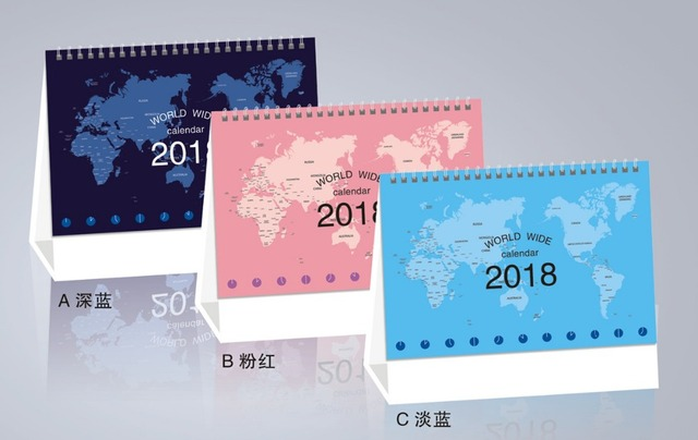 Pz cute cartoon scrivania calendario anno di calendario da
