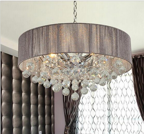 Fashion Crystal Ceiling Light 85-265V 20W LED Ceiling Lamp Modern Living Dining Hotel Room Crystal Lighting