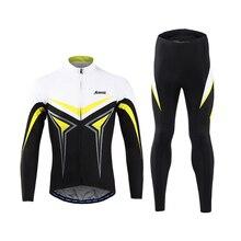 High Quality Men Cycling Jersey Set Pants Ropa Ciclismo Sponge Pad MTB Bike Bicycle Cycling Jacket