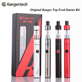 Original Kanger Top Evod Starter Kit With 1.7ml Toptank Atomizer Evod 650mah Evod Battery Top Evod Kit