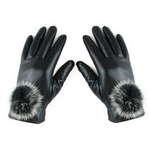 Fashion Leather Gloves And Mittens