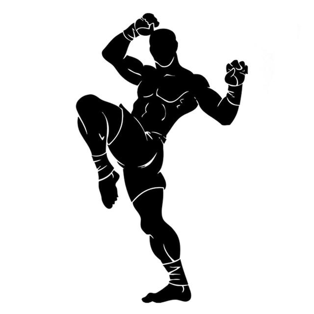 10 9cm 18 3cm Interesting Fitness Sports Kickboxing Decor
