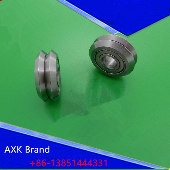 W0ZZ W1ZZ  W2ZZ  W3ZZ W4ZZ track roller bearing   V Groove Guide Bearings tv0630 tv0630vv v groove pulley ball bearings 6 30 8 mm track guide roller bearing