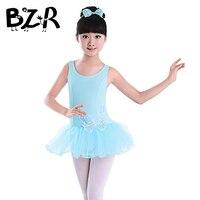 95cm 165cm Girls Toddler Ballet Tutu Dance Dress Long Sleeve Vest Kids Sequin Butterfly Dance Wear