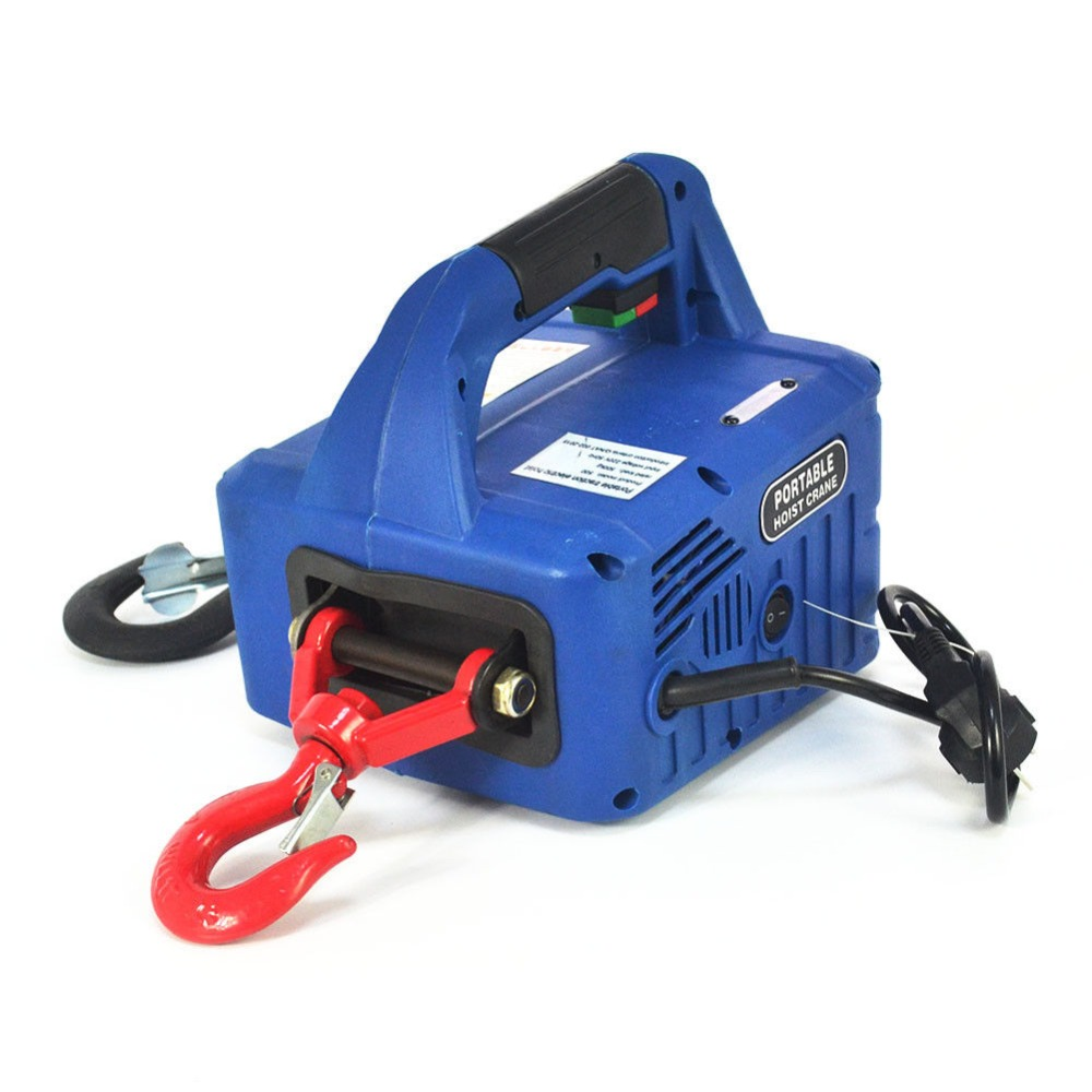 Portable Household Electric Winch 500KGX7.6M  With Wireless Control