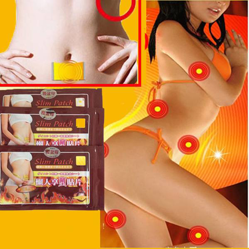 30Pcs Health Care Slimming Patches Weight Loss Product Strong Efficacy Navel Stick Slim Patches For Diet Burning Fat Patch