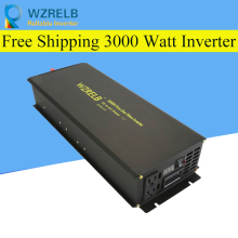 Reliable Peak 3000W Pure Sine Wave OFF Grid Inverter DC12V/24V to AC220V Power Inverter Converter Houseuse Solar System decen 24v 3000w peak power 6000w pure sine wave solar off grid inverter built in 40a mppt controller with communication lcd