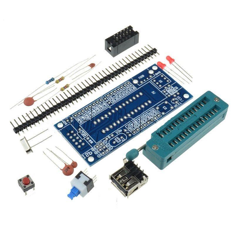 ATmega8 ATmega48 ATMEGA88 Development Board AVR (NO Chip) New m48 adp atmega48 atmega88 atmega168 tqfp32 avr programming adapter test socket