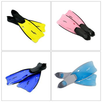 Long Fins Full Foot Swimming Snorkeling Flippers Training Diving Equipment Lightweight Adult Outdoor Water Sports Faster Speed