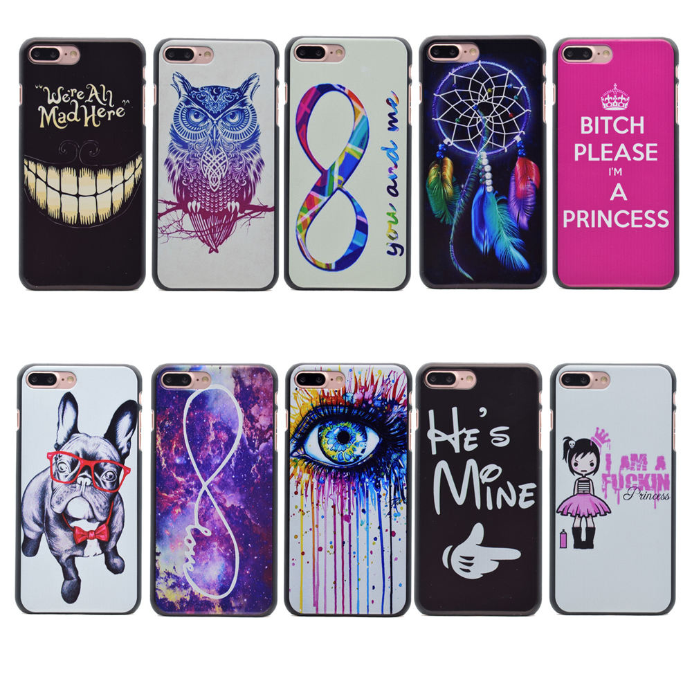 New Arrival Black Phone Cases For Apple iPhone 7 Plus 5.5 Case Back Cover For iPhone7Plus iPhone 7Plus