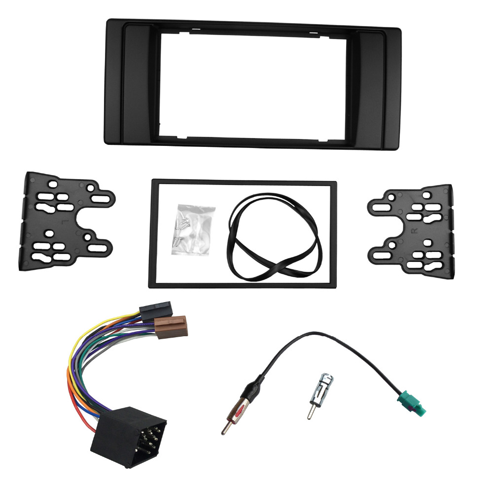 2014 5 bmw x5 m amp x6 m f85 f86 page 5 - For Bmw Series 5 E53 E39 Radio Dvd Stereo Panel Dash Double Din Fascia Trim Kit Frame With Wiring Harness Antenna Aerial Adaptor