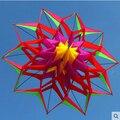 Nuevo de Alta Calidad 3D Flor de Loto Cometa Con la Manija Y la Línea Buena Flying Factory Outlet