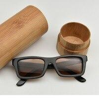 High Quantity Channels Sunglasses Popular Fashion Brand Designer Polarized UV Eyewear Wood And Bamboo Sunglasses