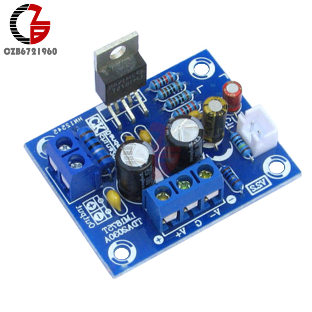 20W <font><b>LM1875T</b></font> HiFi Mono Channel <font><b>Stereo</b></font> <font><b>Audio</b></font> Power <font><b>Amplifier</b></font> Board Adjustable 14Hz-100KHz for Subwoofer Speaker <font><b>DIY</b></font> <font><b>Kit</b></font> image