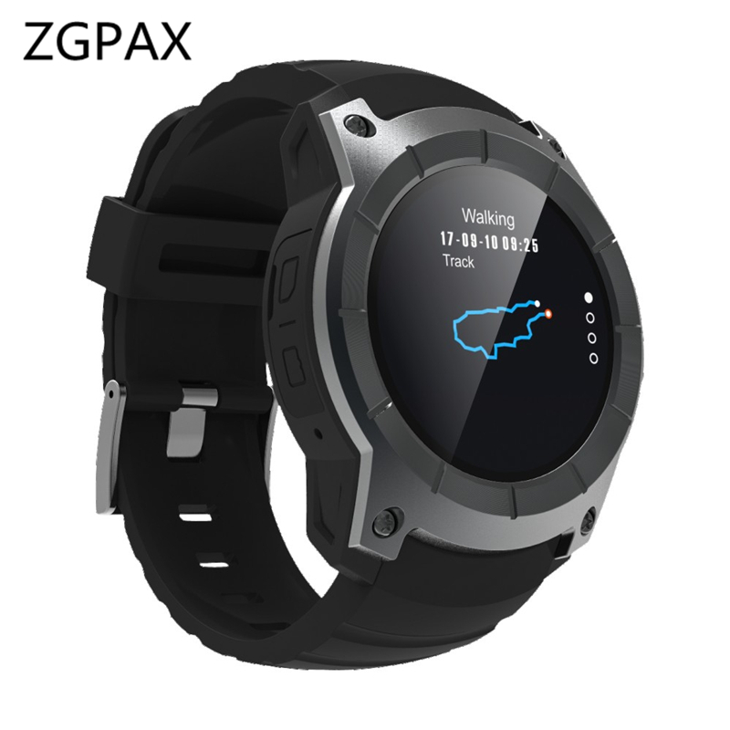 ZGPAX GPS Sports Watch S958 MTK2503 Heart rate monitor Smartwatch 1.3
